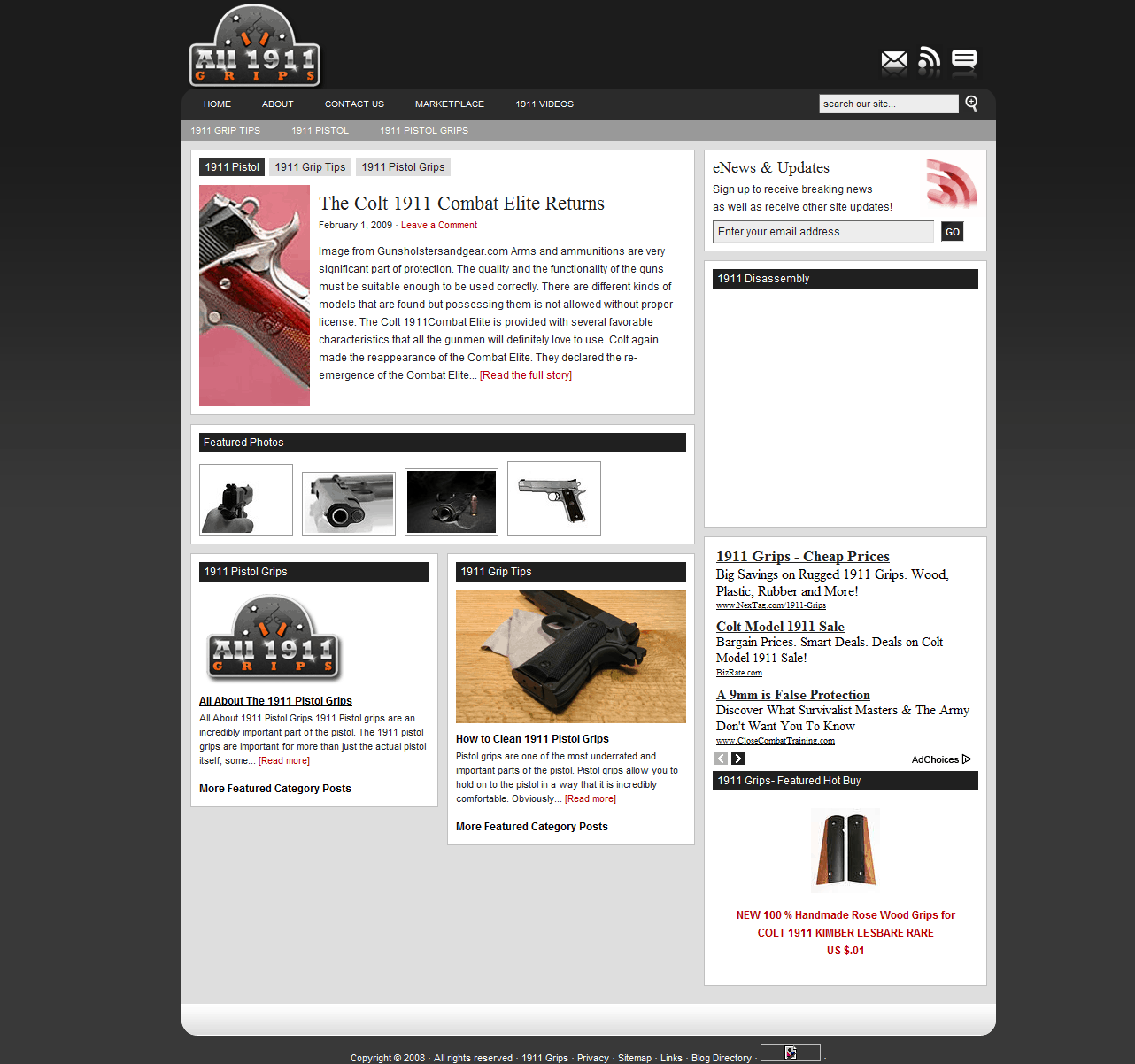1911 grips website