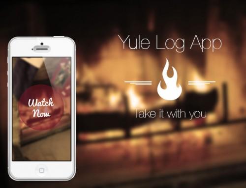 Yule Log App Logo